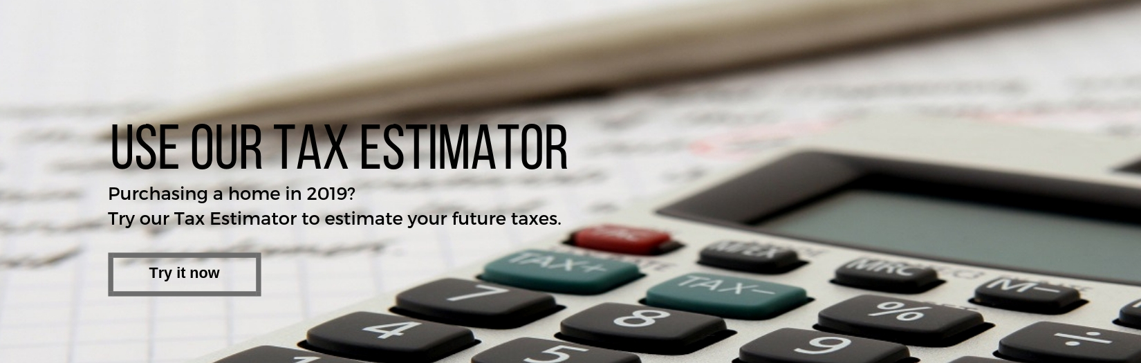 Tax Estimator Tool